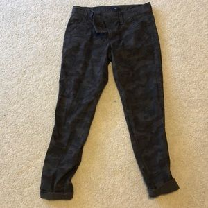 Gap Size 4 Camo Jeans, Worn Once